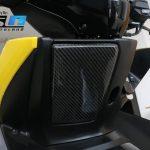Cover Tutup Laci Yamaha Aerox 155 Lapis Karbon Carbon Kevlar