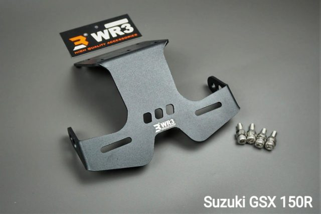 Dudukan Plat Tail Tidy GSX 150 R WR3 New