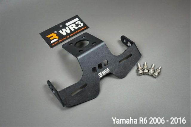 Dudukan Plat Tail Tidy R6 WR3