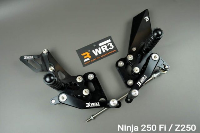 Footstep Racing Underbone Ninja 250 New Facelift 2018 WR3