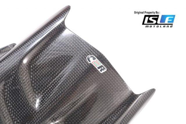 Hugger Spakbor Belakang Kawasaki ZX6-R ZX636 2009-2018 Carbon2Race