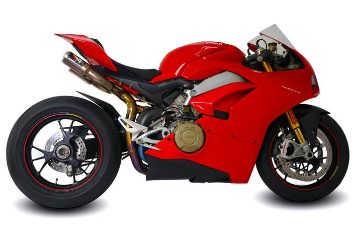 Knalpot Ducati Panigale V4 Austin Racing RS22 Inconel
