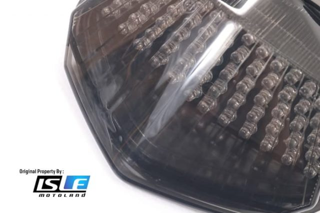 Stoplamp 3 in 1 Lampu Rem Tail light Ninja 250 2008-2012 Motodynamic
