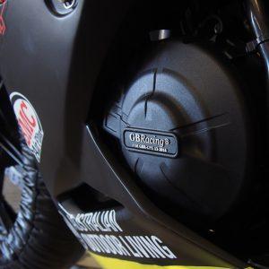 Engine Guard Case Cover Kawasaki Ninja 250Fi Z250 GB Racing