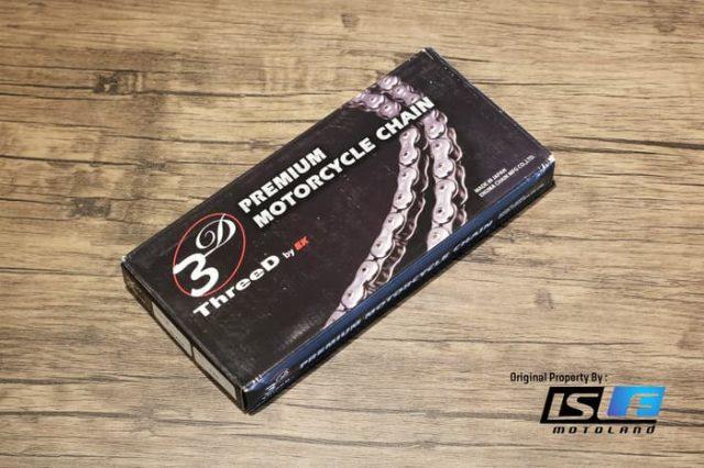 Rantai EK Chain Japan 525Z 3D
