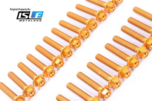 Screw Kit Blok Mesin Kawasaki Z900 -17 Lightech