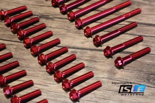 Screw Kit Blok Mesin Kawasaki ZX6R -09 Lightech