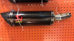Knalpot Ninja 250 Fi New Akrapovic Carbon