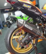 Knalpot Ninja 250 New Arrow Italy Carbon Race Tech