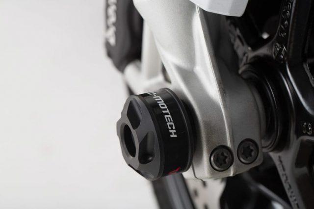 Axle Slider BMW R9T R Niner T Pelindung As Belakang SW Motech Ori Jerman