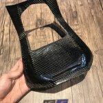 Cover Deck Tengah Karbon Forza Carbon Kevlar