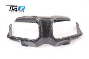 Cover Headlamp ADV150 Karbon Honda Lapis Carbon Kevlar Ori