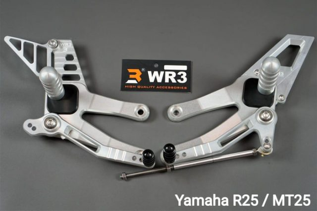 WR3 Footstep Racing V-Series Yamaha R25 & MT25 '14-Up - WR3 Footstep Racing V-Series Yamaha R25 & MT25 '14-Up - WR3 Footstep Racing V-Series Yamaha R25 & MT25 '14-Up - WR3 Footstep Racing V-Series Yamaha R25 & MT25 '14-Up
