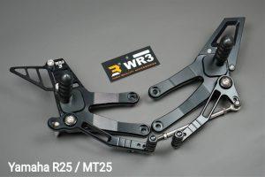 Footstep Yamaha R25 MT25 WR3 V Series