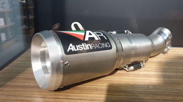 Knalpot Ducati Scrambler 400 Austin Racing