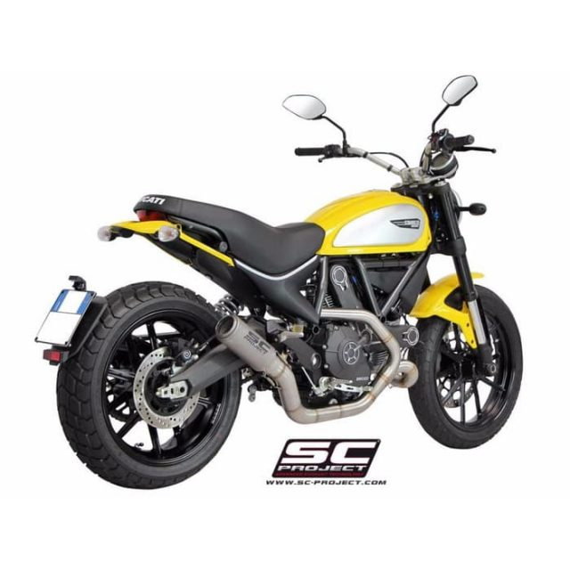 Knalpot Ducati Srambler 800 SC Project CR-T