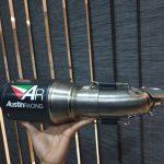 Knalpot R25 Austin Racing UK Ori Inggris
