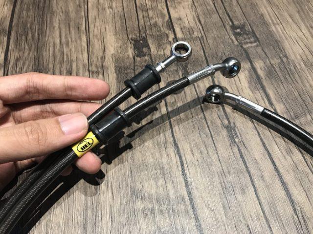 Slang Rem HEL CBR 150 R K45G Garansi Resmi Original