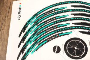 Stiker Velg Lightech Wheel Stripe