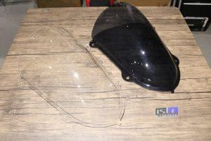Windshield New R25 Jenong Bubble
