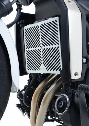 Brushed Aluminium Radiator Guard Vulcan S 2015