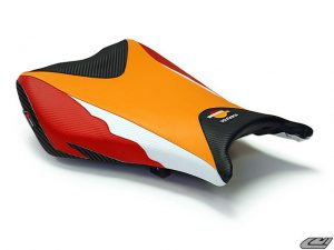 Seat Skin / Kulit Jok Luimoto Repsol Edition CBR1000 2012 - Onwards