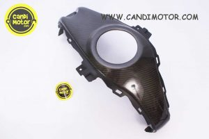 Cover Tengah Tangki / Center Panel R25 & MT25 (Carbon)