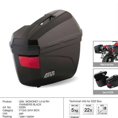GIVI - Side Box E22