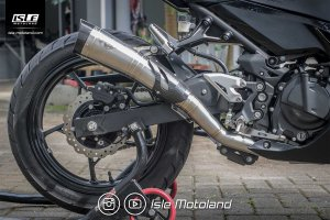 R9 Knalpot Racing H2 Series Full System Kawasaki New Ninja 250 FI '18-Up