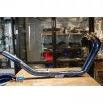 P&P RACING Exhaust Header Bending Stainless Blue Yamaha R25 & MT25 - P&P RACING Exhaust Header Bending Stainless Blue Yamaha R25 & MT25 - P&P RACING Exhaust Header Bending Stainless Blue Yamaha R25 & MT25 - P&P RACING Exhaust Header Bending Stainless Blue Yamaha R25 & MT25