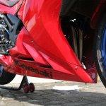 CARBON CUSTOM Undercowl Model Shark Kawasaki Ninja 250 Fi Old